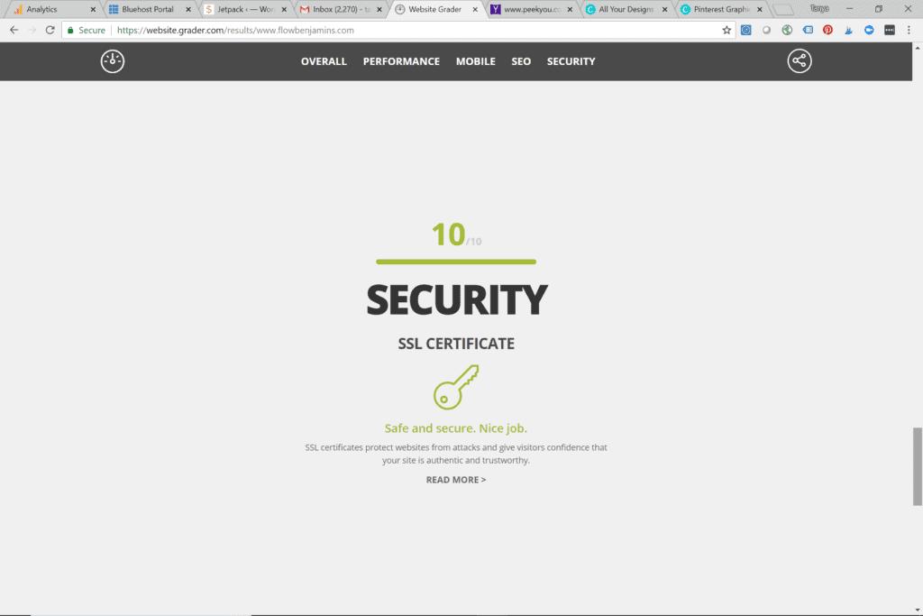 SEO, blog, blogging tips, website, security