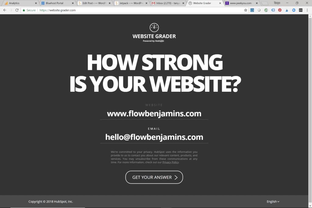 website, grader, grades, blog, blogging
