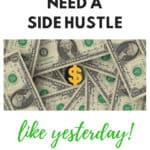 side hustle, extra cash, quick cash