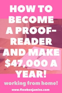 Proofread Anywhere, proofreading, work from home