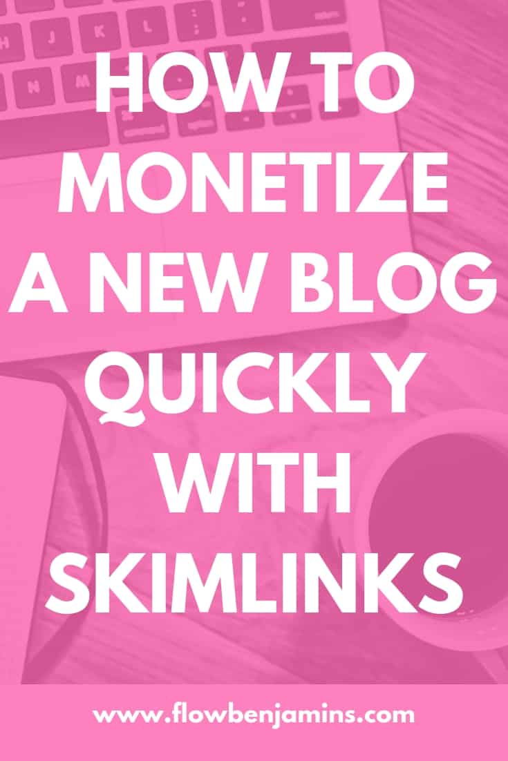 monetize a new blog