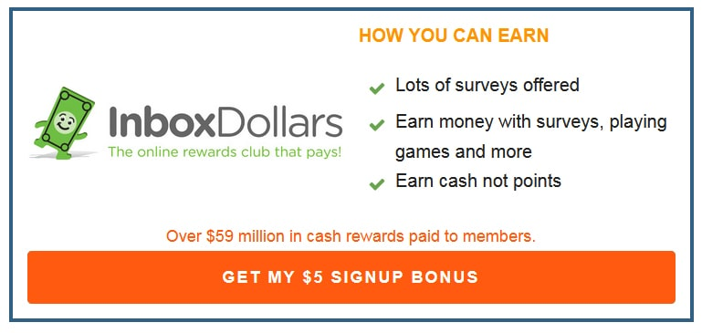 Inbox Dollars Box