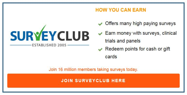 Survey Club Box