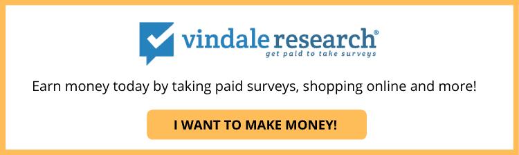 Vindale Research Button